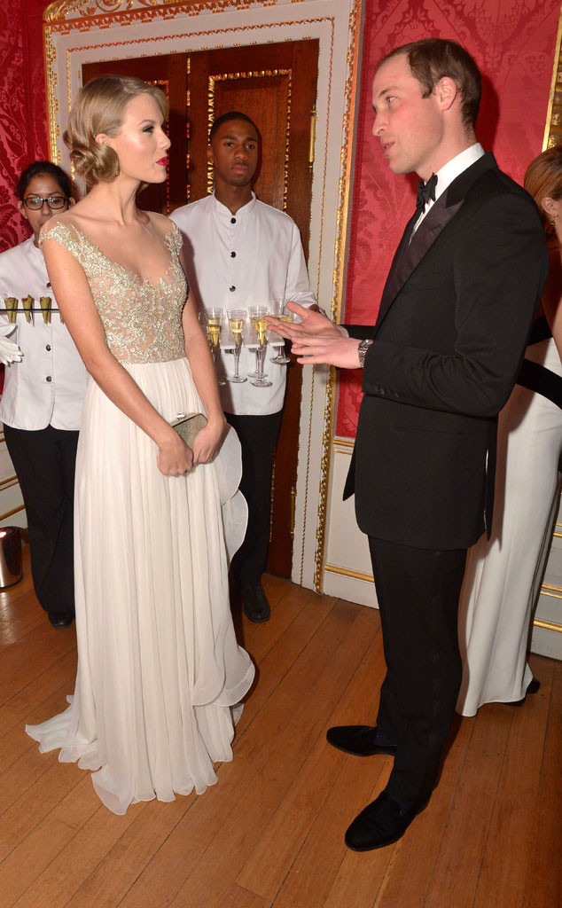 Taylor Swift, Prince William