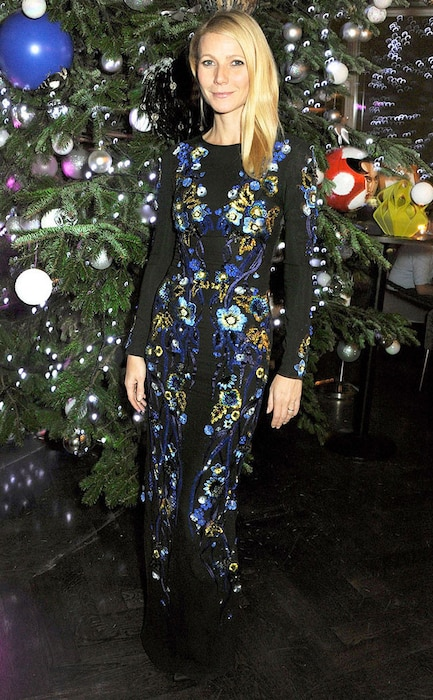 Gwyneth Paltrow, Matthew Williamson, Kids Company Dinner, England