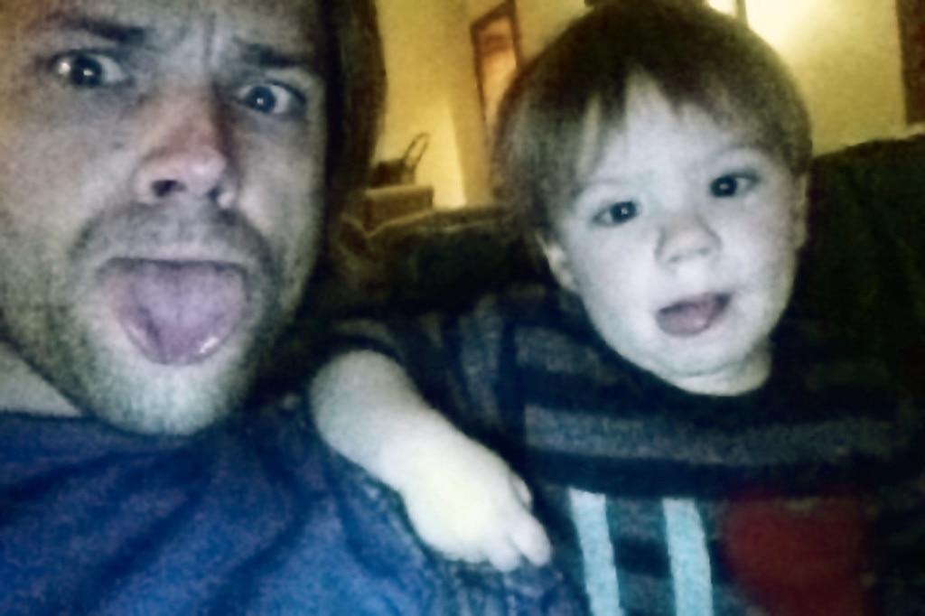 Jared Padalecki, Son, Twit Pic