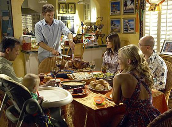 Dexter, Thanksgiving, Trinity Killer