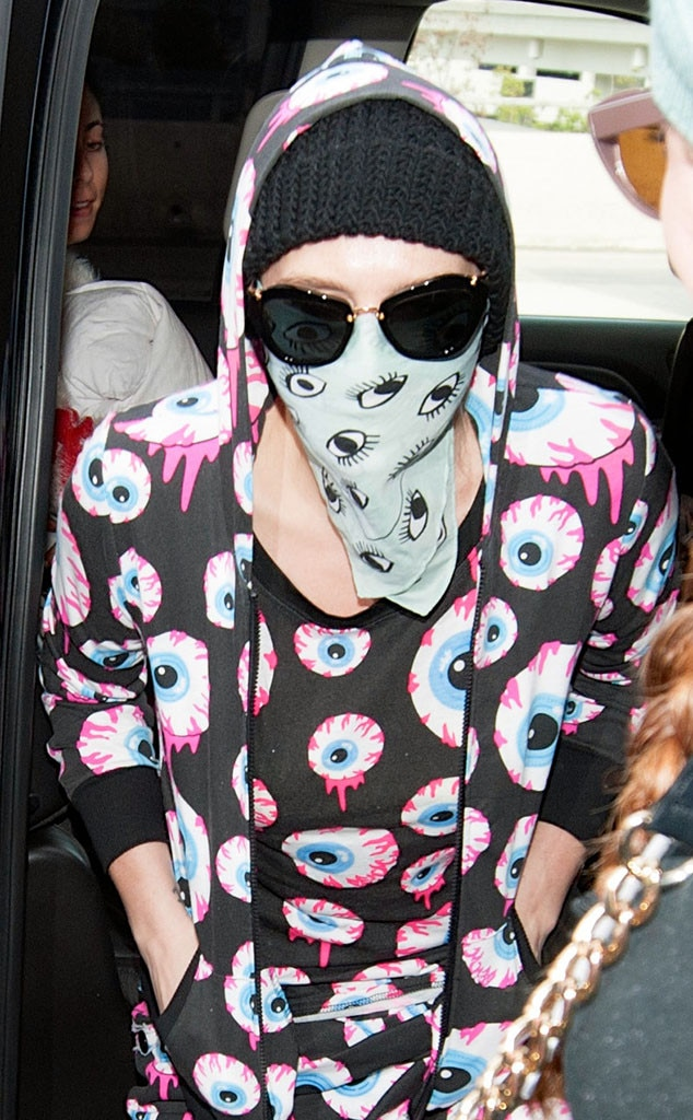 Kesha, LAX, Bandana