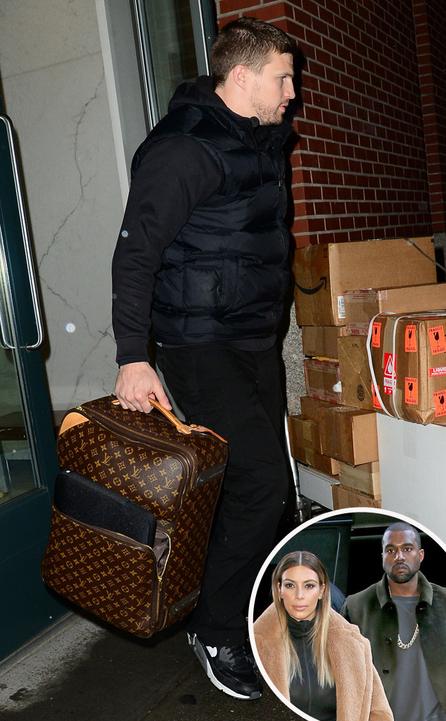 Kim Kardashian, Kanye West, Bodyguard, Louis Vuitton