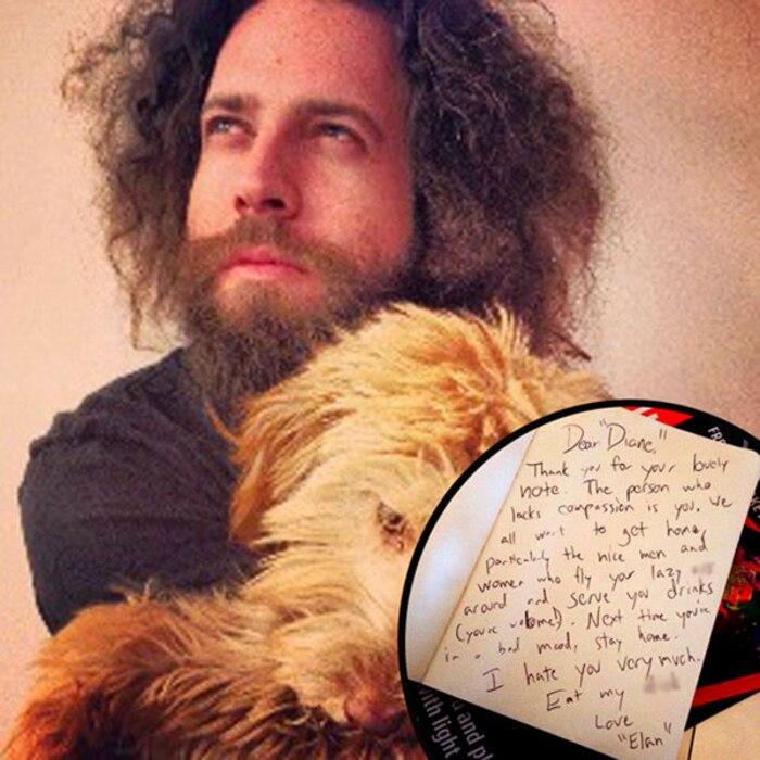 Elan Gale, The Bachelor Producer, Twitter, Letter, Edited Letter