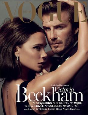 Victoria Beckham, David Beckham, Vogue France