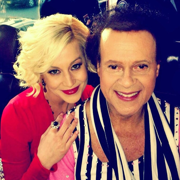 Kellie Pickler, Richard Simmons, Twitter, 11/13