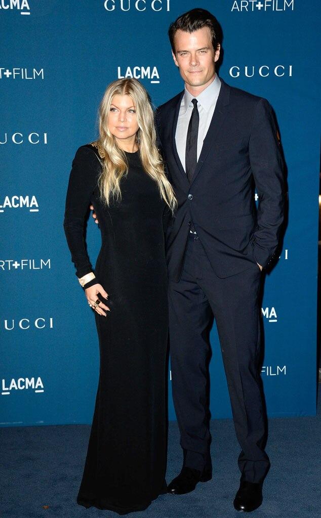 Fergie, Josh Duhamel, LACMA Gala