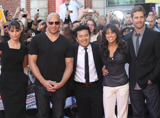 Jordana Brewster, Vin Diesel, Justin Lin, Michelle Rodriguez, Paul Walker