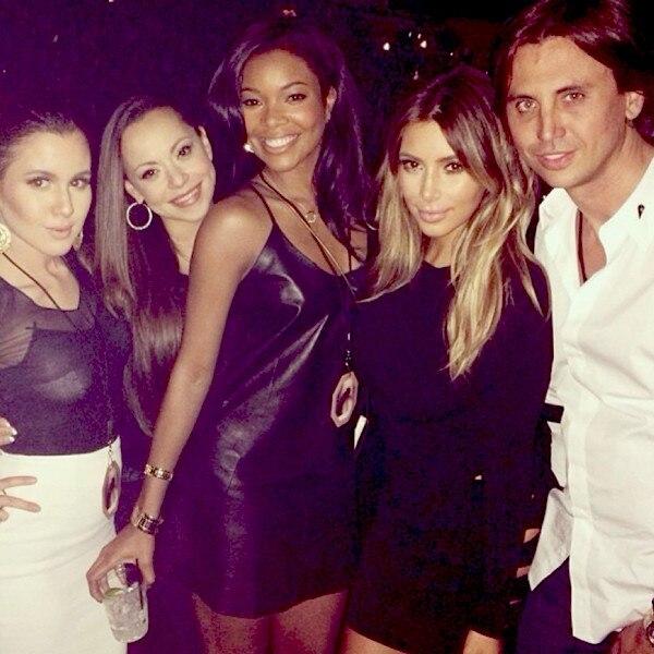 Kim Kardashian, Gabrielle Union