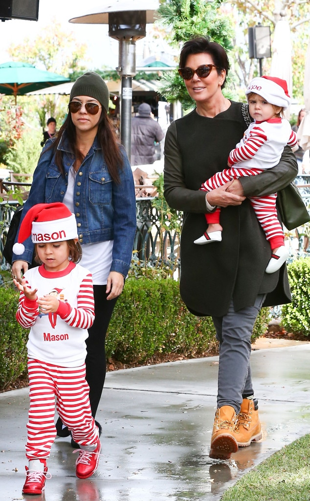Kourtney Kardashian, Kris Jenner, Penelope, Mason