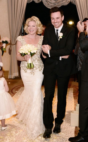Megan Hilty, Brian Gallagher, Wedding