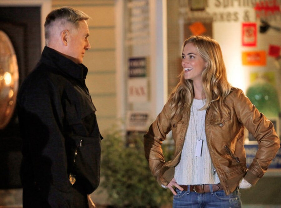 NCIS, Mark Harmon, Emily Wickersham