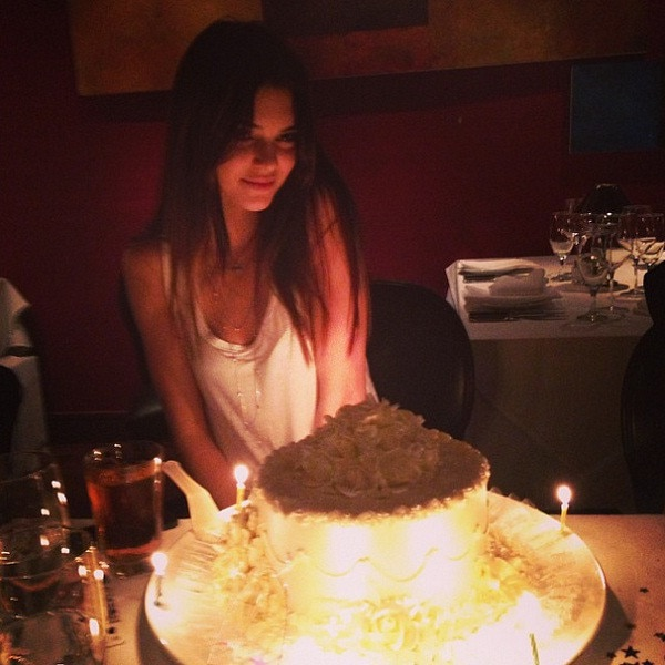 Kendall Jenner, Instagram, 18th Birthday