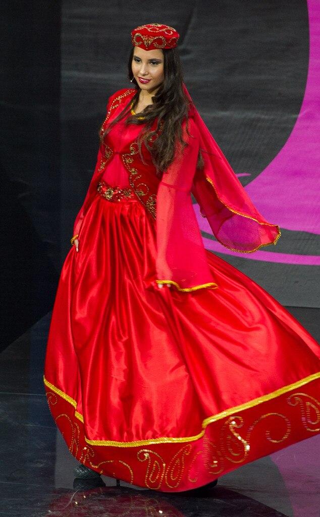 Miss Azerbaijan From 2013 Miss Universe Costume Contest