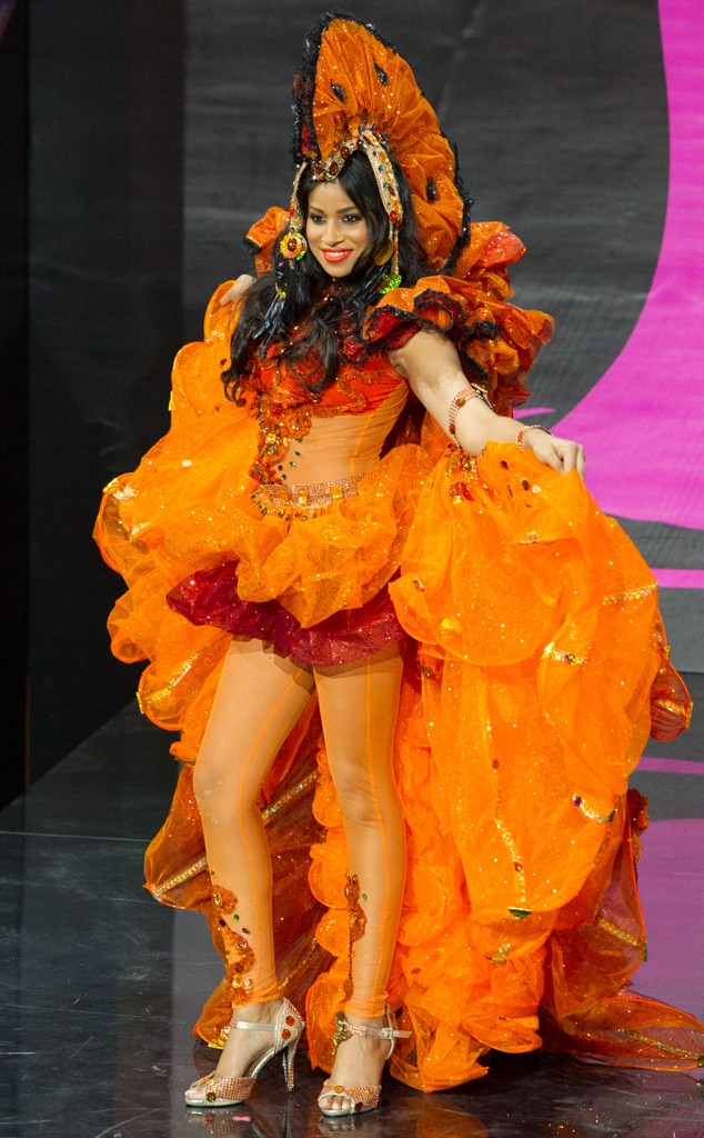 Miss Guyana From 2013 Miss Universe Costume Contest E News