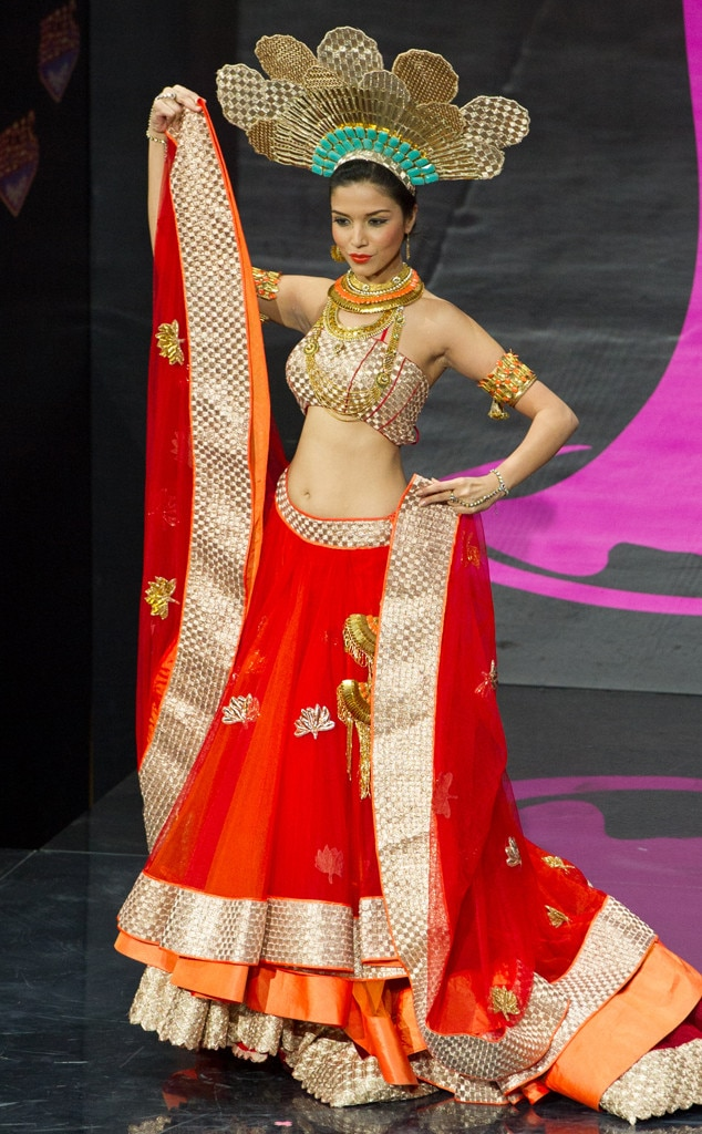 Miss India From 2013 Miss Universe Costume Contest E News