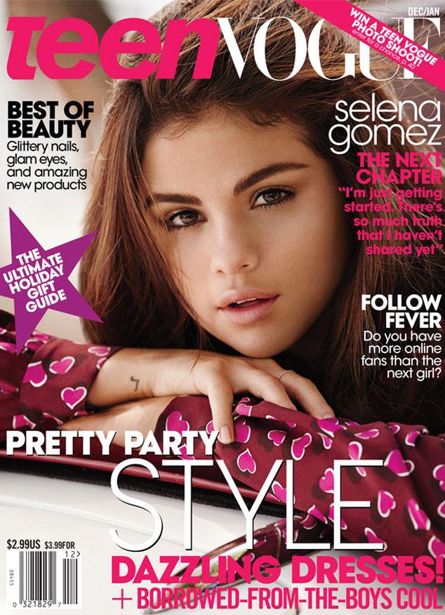 Selena Gomez, Teen Vogue