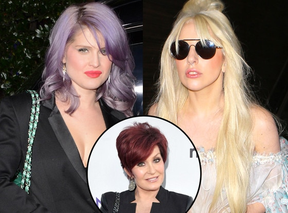 Kelly Osbourne, Sharon Osbourne, Lady Gaga