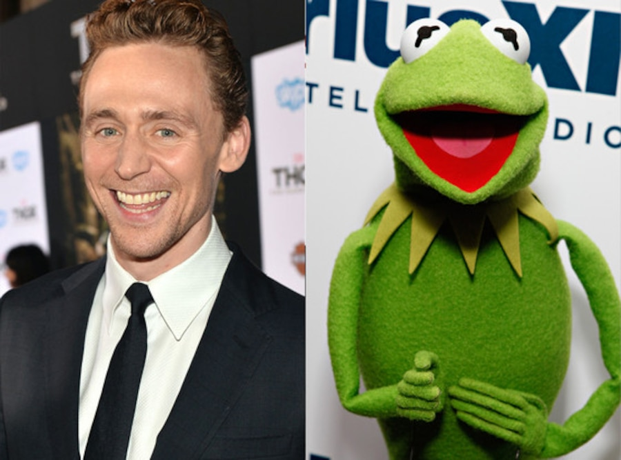 Tom Hiddleston, Kermit the Frog