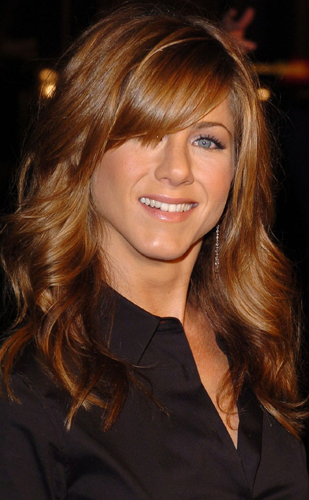 2004 from jennifer anistons hair through the years e news