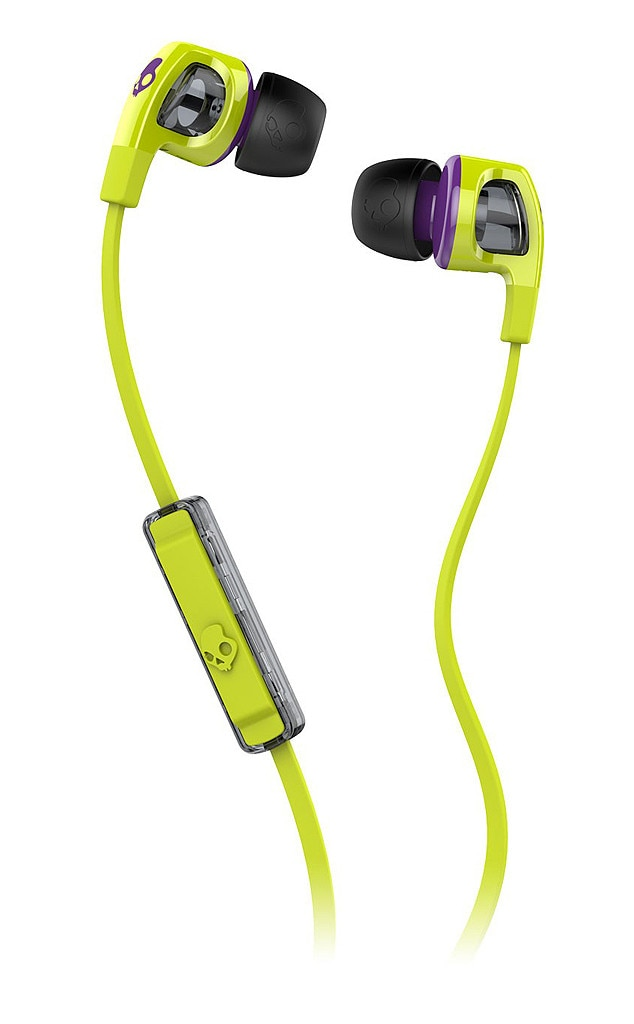 Lime Skullcandy Smokin Buds, Holiday Gadget Gift Guide