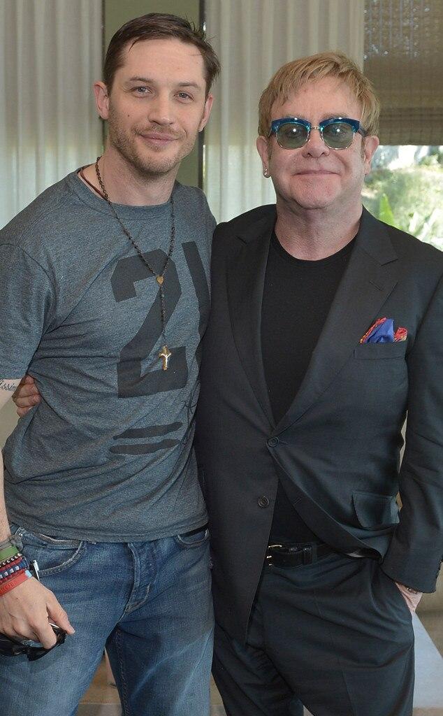 Tom Hardy, Elton John