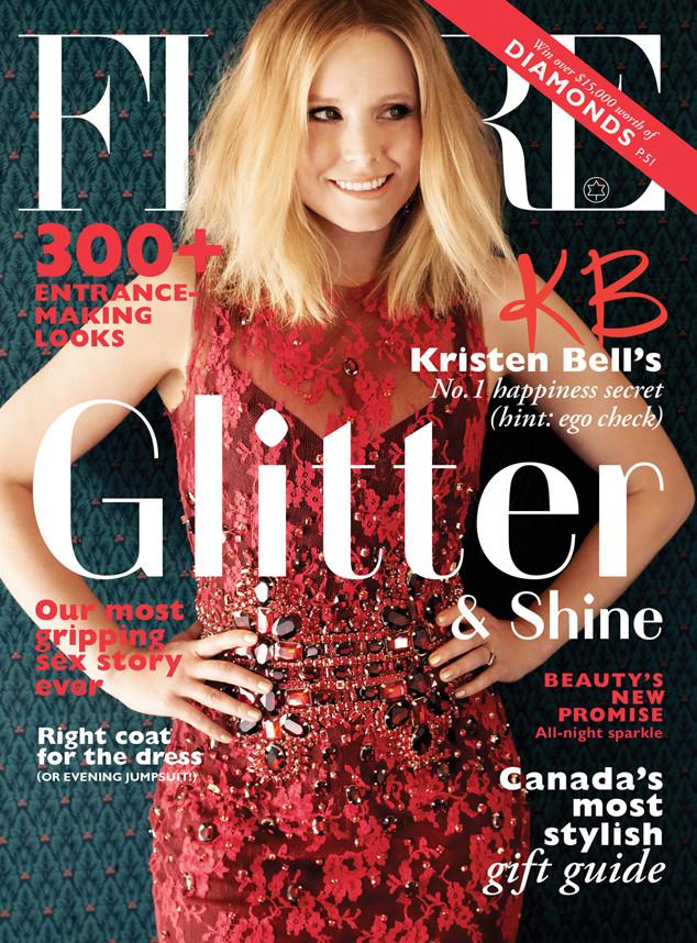 Kristen Bell, Flare Magazine
