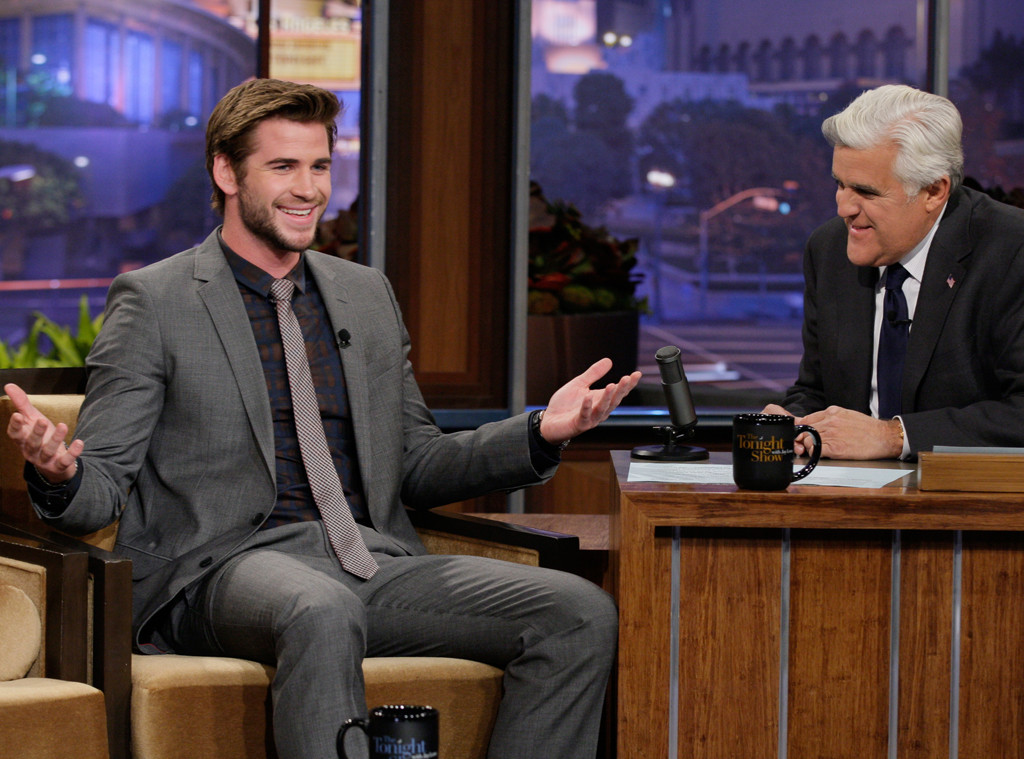 Liam Hemsworth, The Tonight Show with Jay Leno