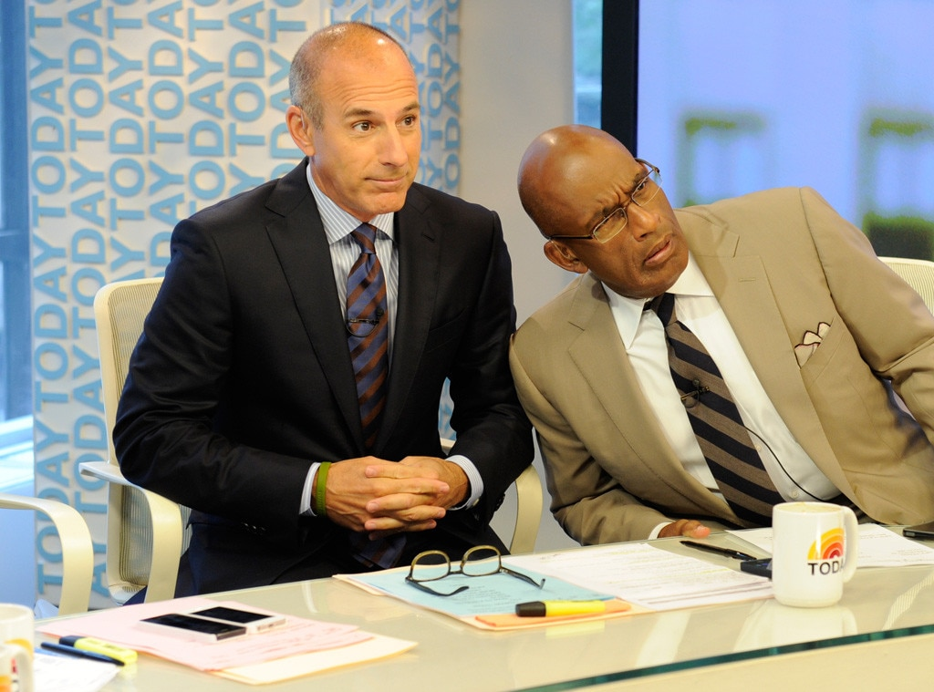 Matt Lauer, Al Roker, Today