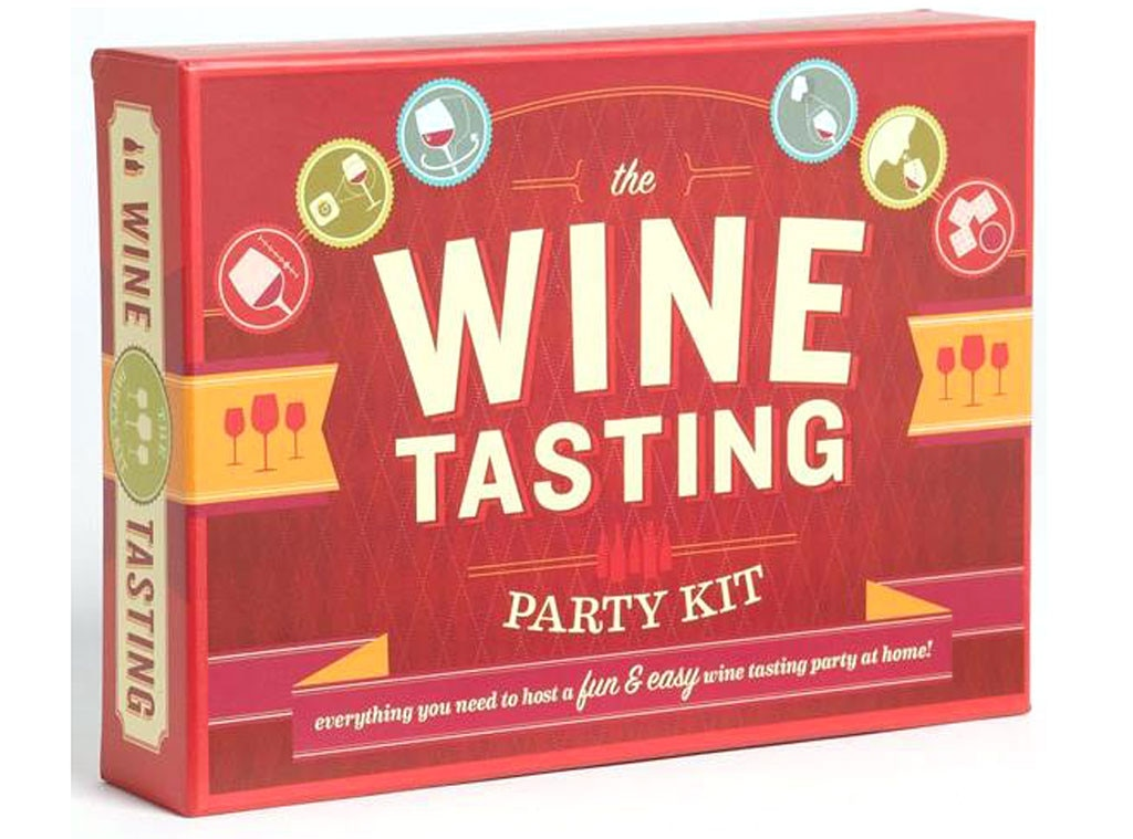 Hostess Gift Guide, Wine Tasting Party Kit