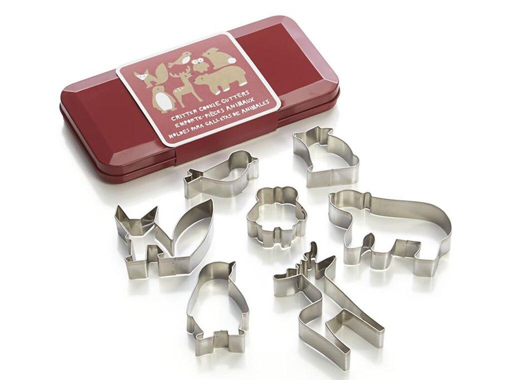 Hostess Gift Guide, Crate & Barrel Critter Cookie Cutter Set