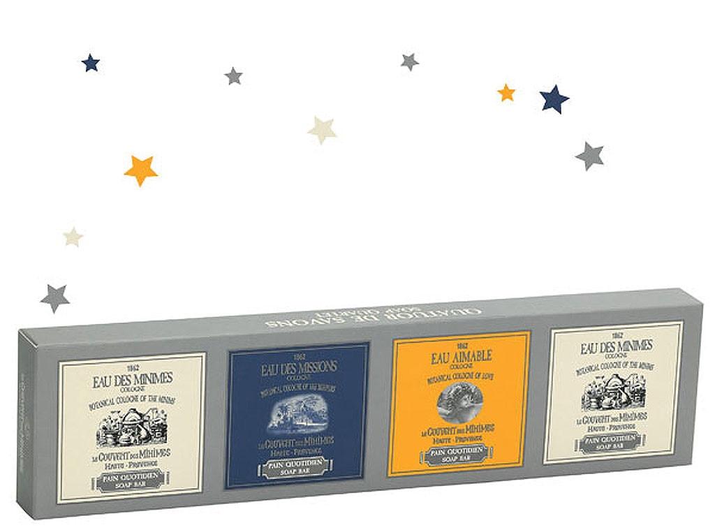 Hostess Gift Guide, Le Couvent des Minimes Christmas Soap Quartet