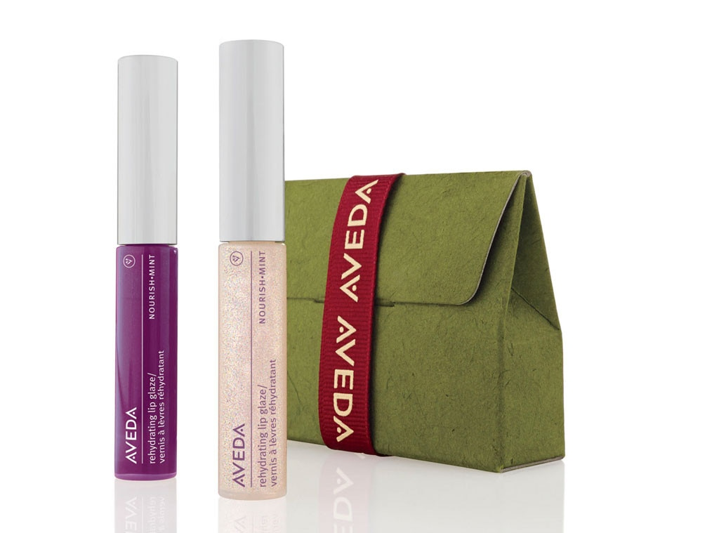 Holiday Charity Gift Guide, Aveda Give Smiles Lip Set