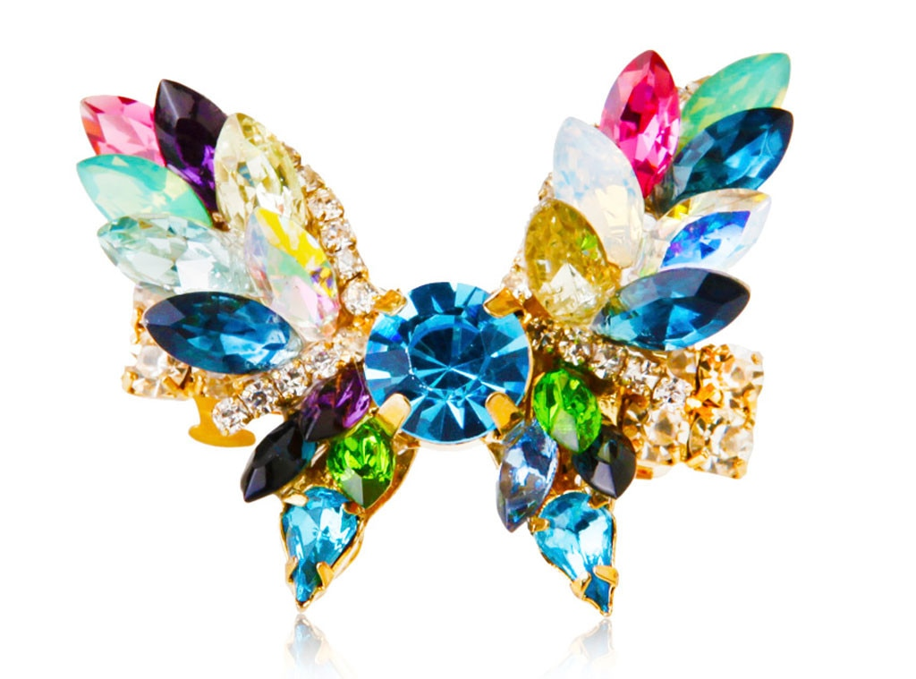 Holiday Charity Gift Guide, Beauty.com x Erickson Beamon Tropical Punch Butterfly Hair Jewelry