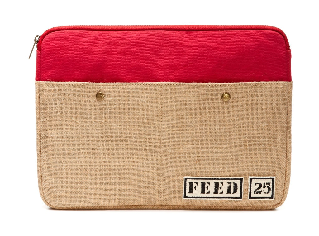 Holiday Charity Gift Guide, FEED Laptop Case