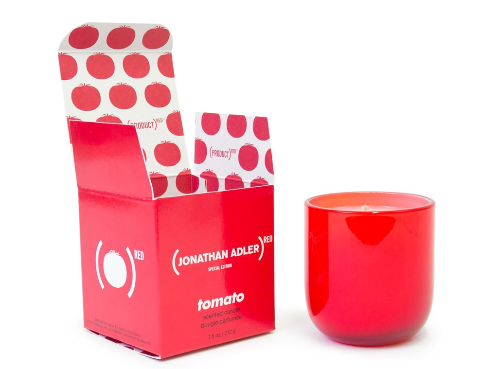 Holiday Charity Gift Guide, Jonathan Adler (PRODUCT) RED Pop Candle