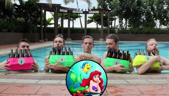 Bottle Boys, Little Mermaid, Under the Sea