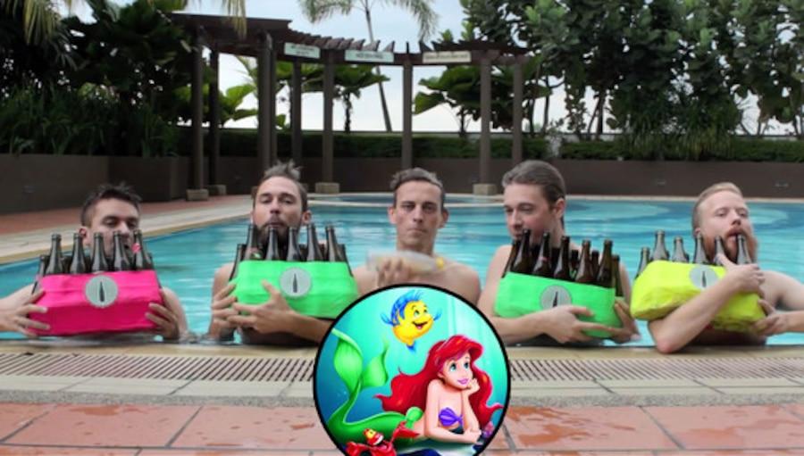 Bottle Boys, Little Mermaid, Under the Sea