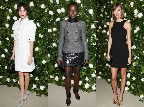 Lupita Nyong'o, Karlie Kloss, Alexa Chung