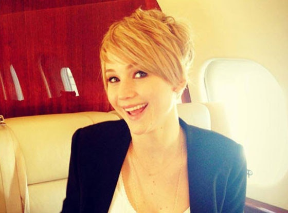Jennifer Lawrence, Haircut