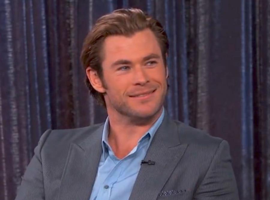 Chris Hemsworth, Jimmy Kimmel