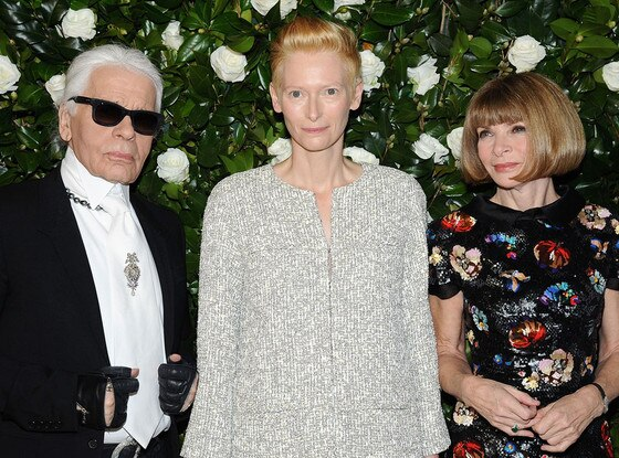 Tilda Swinton, Karl Lagerfeld, Anna Wintour