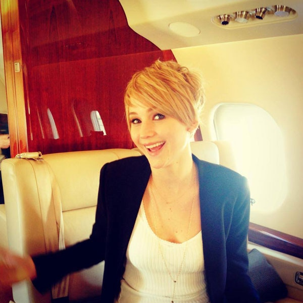 Jennifer Lawrence, Haircut