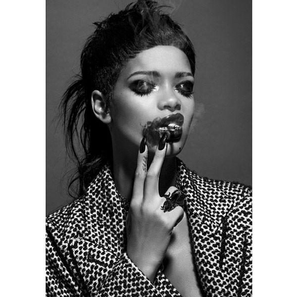 Rihanna Instagram, 032c Magazine