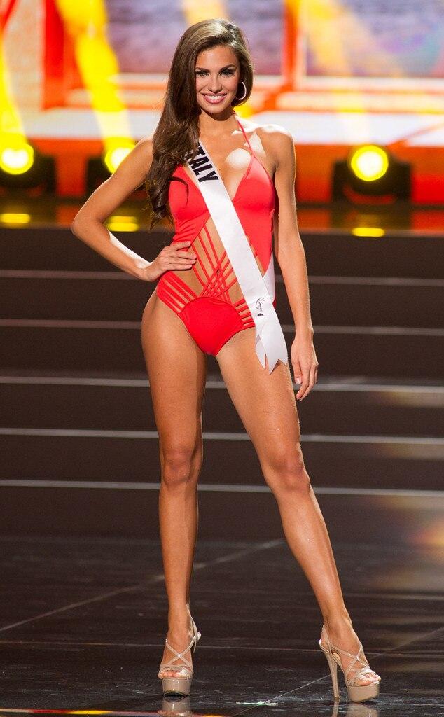 Miss Italy, Miss Universe, Bikini
