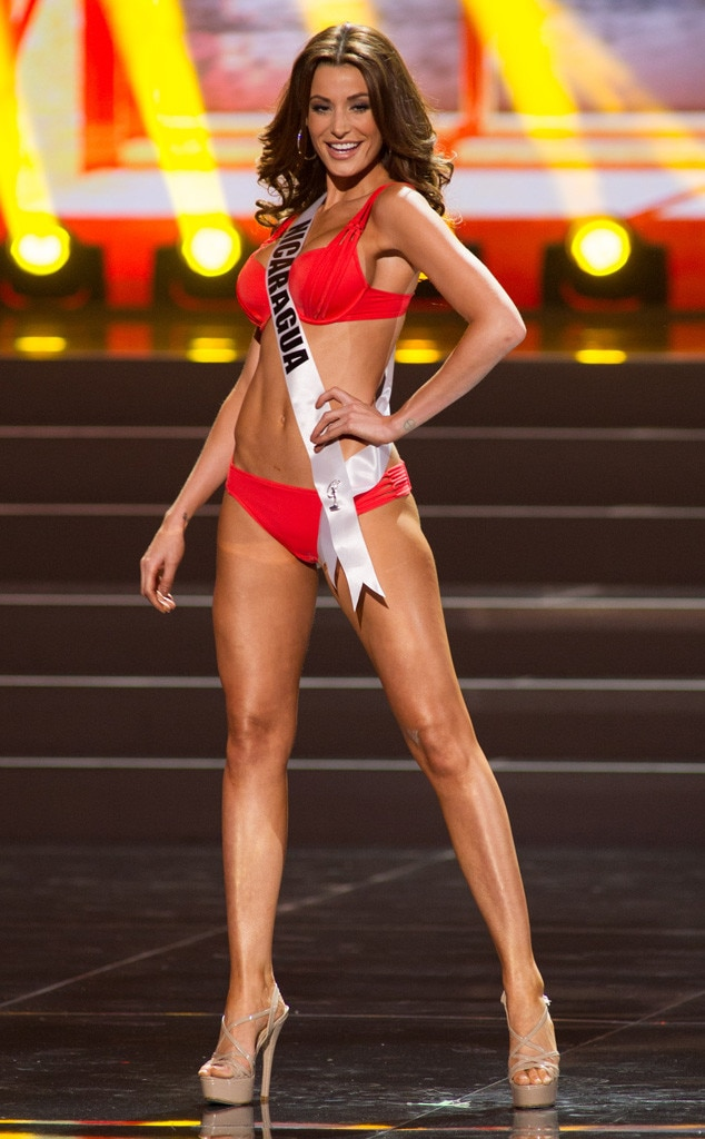 Miss Nicaragua From 2013 Miss Universe Swimsuit