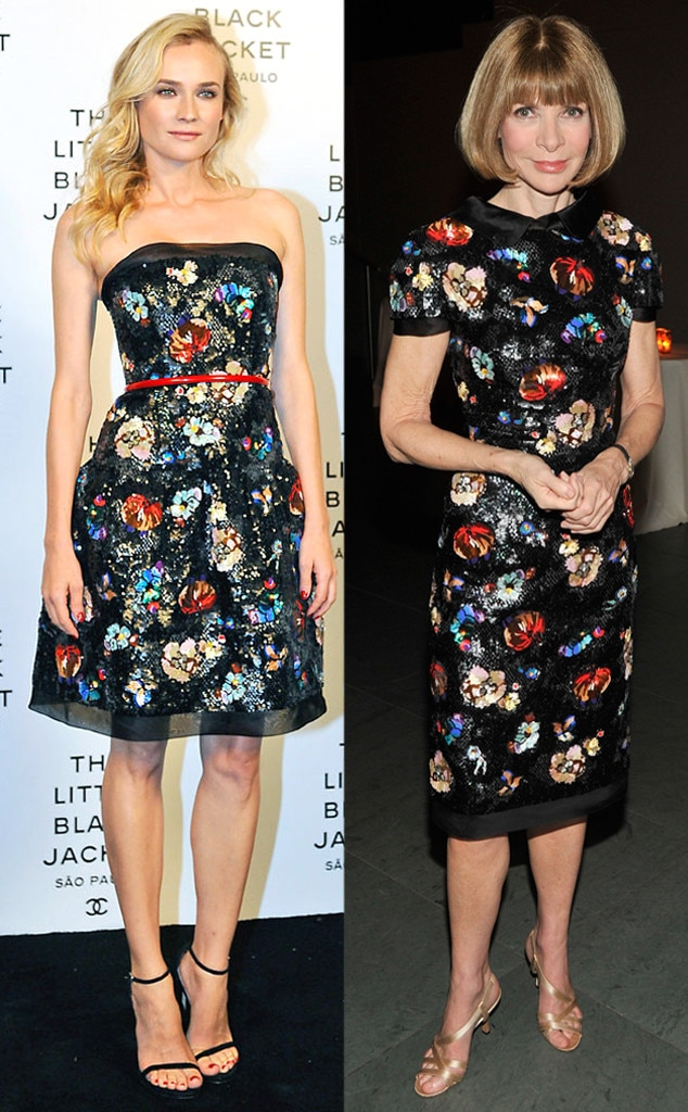 Diane Kruger, Anna Wintour, Chanel