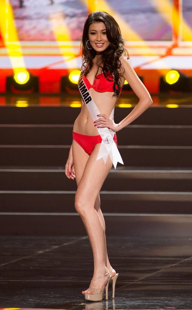 Miss Myanmar, Miss Universe, Bikini