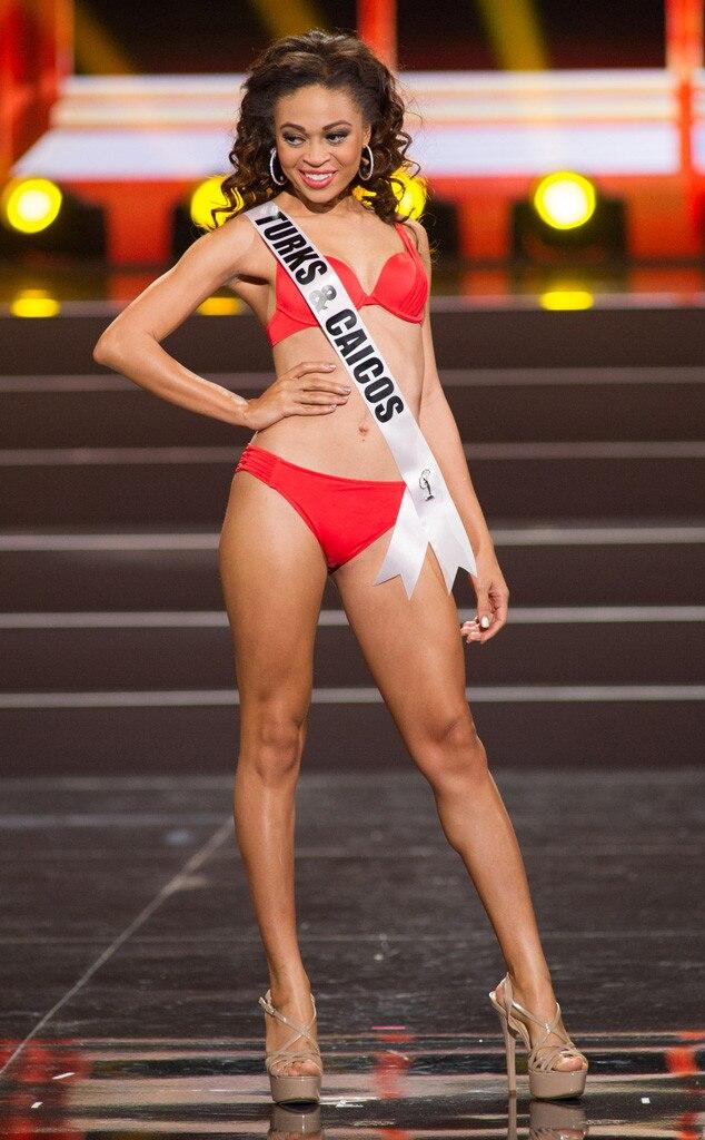 Miss Turks & Caicos, Miss Universe, Bikini
