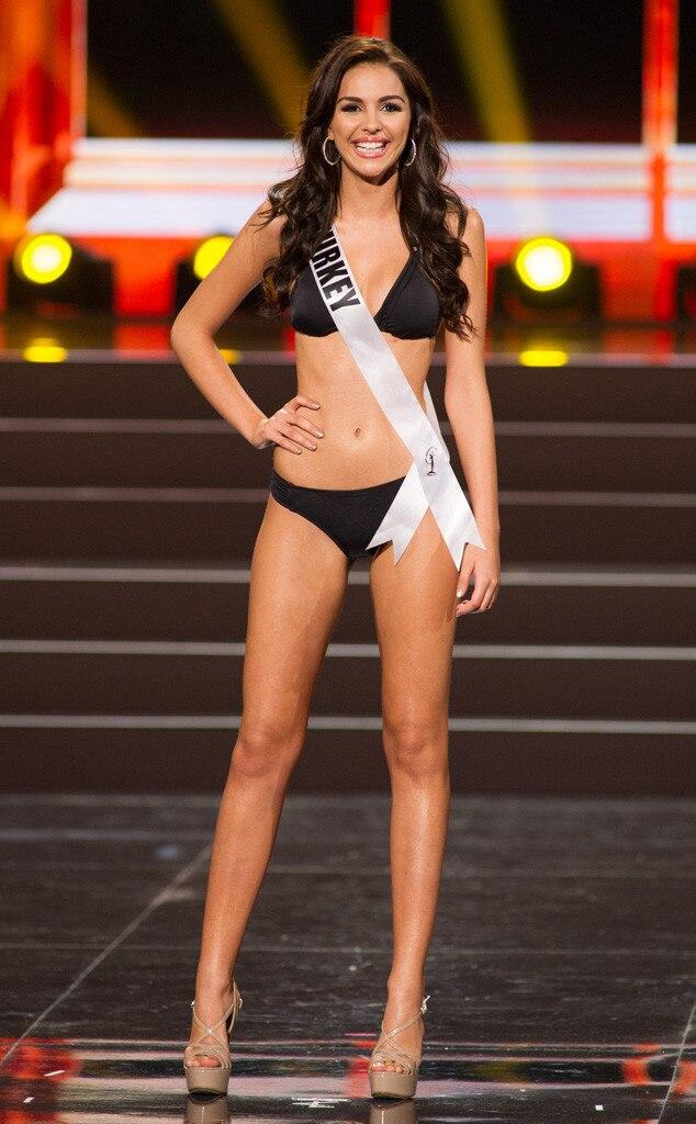 Miss Turkey, Miss Universe, Bikini