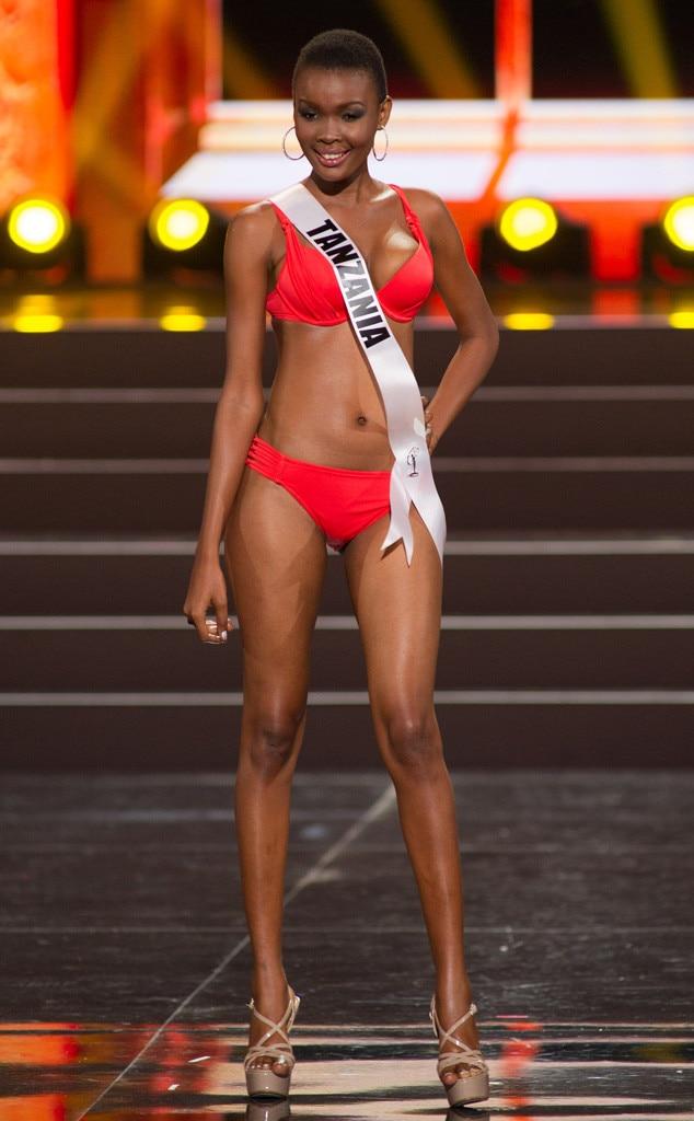 Miss Tanzania, Miss Universe, Bikini